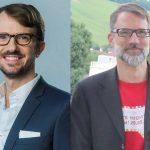 Sebastian Dettmers (StepStone) und Henner Knabenreich (personalmarketing2null) eröffnen die HR-NIGHT