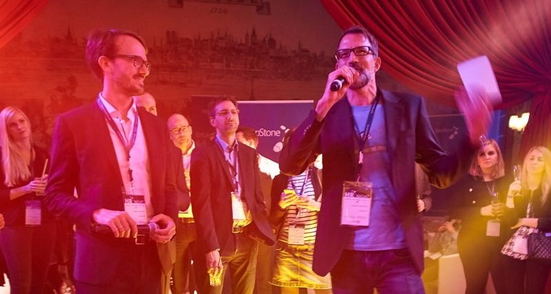 Sebastian Dettmers, StepStone und Henner Knabenreich eröffnen die HR-NIGHT 2016