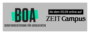 Sponsor BOA by ZEIT Campus
