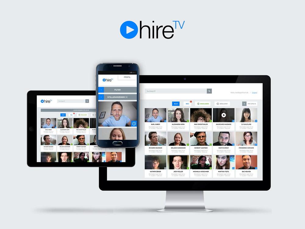 Hire TV - Recruiting mit Videobewerbung