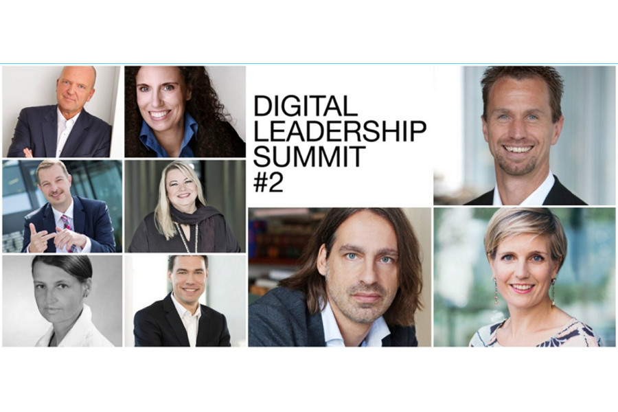 Keynotes von der Kanzel: 2. Digital Leadership Summit